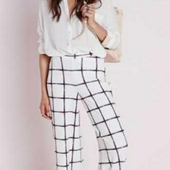 6546fbd5 Zara Woman High Rise Wide Leg Grid Print. NWT. Zara.  M_5b69ddc47386bc52ec0e69cb. M_5b69ddbb4ab633cb06213c84.  M_5b69ddbe04e33dac6cdc06c6